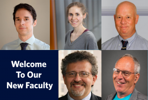 Welcome New BISC Faculty Members